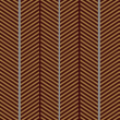 Brown - Herringbone