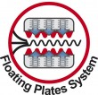 Floating Plates…stem fresee
